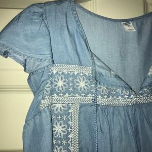 Old Navy Dresses - NWT denim dress from Old Navy